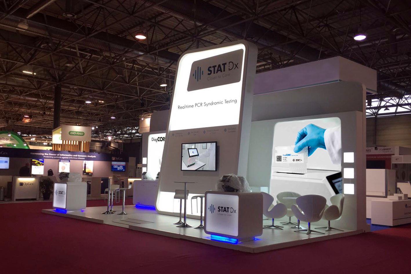 Mac Group stands & events at Infarma