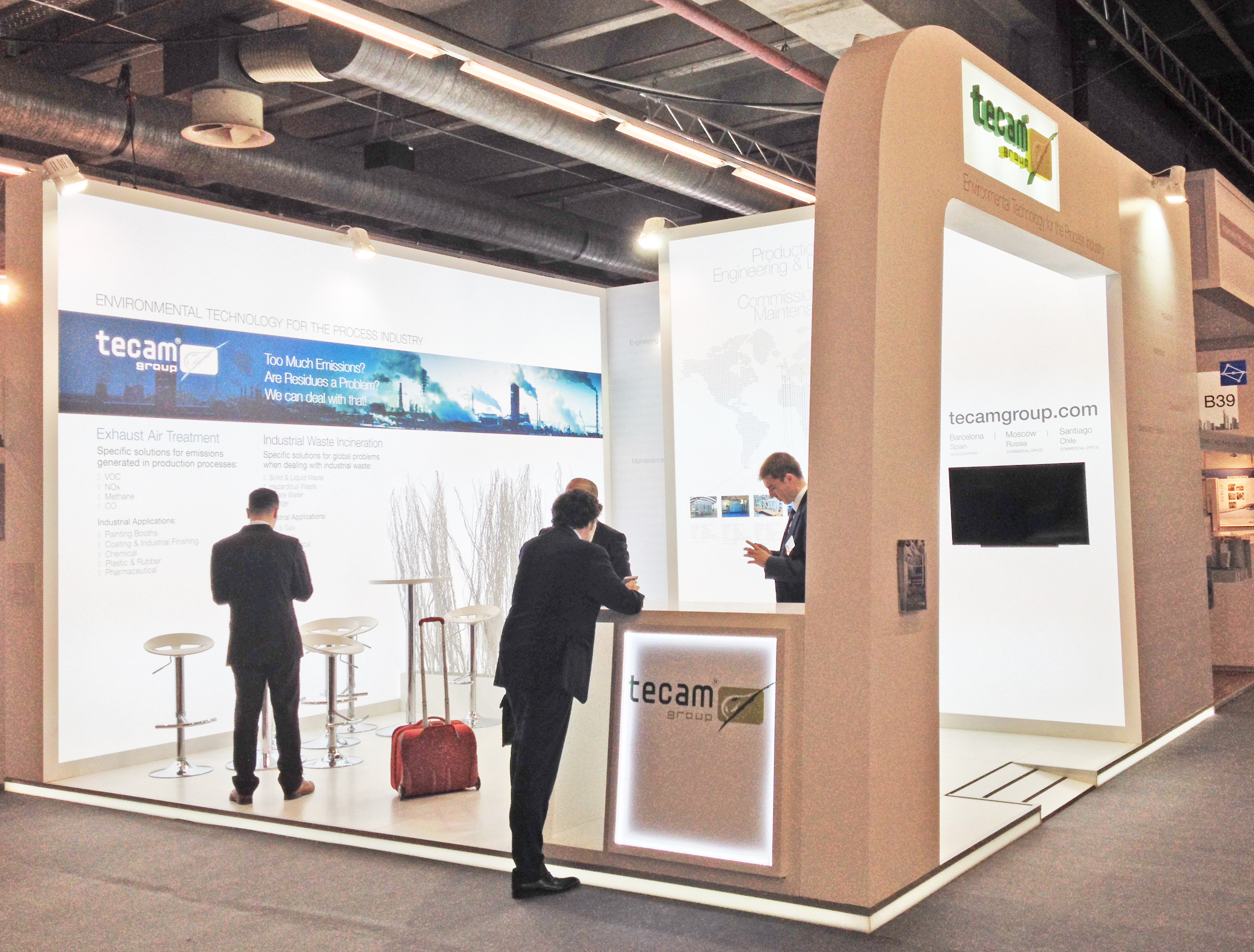 Mac Group stands & events at Gastech